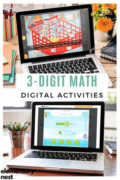 Check out these digital and hands-on tools to help students learn how to add and subtract within 1,000. From online games to interactive anchor charts to traditional base-ten blocks activities, you can help your students visualize and conceptualize 3-digit addition and 3-digit subtraction. Teaching Second Grade, Second Grade Math, Subtraction Activities, Learning Activities, Help Teaching, Teaching Ideas, Teaching Place Values, Place Value Activities, Teaching Addition