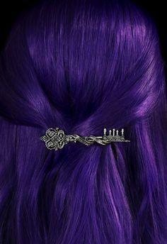 Broche à Cheveux 'Key to Wonderland' Accessoires Gothiques Boutique Gothique