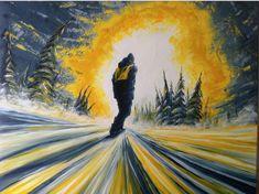 Snowboard art, snowboard painting, stu leonard, stu leonard art