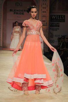 Manish Malhotra Lehenga from WIFW 2012. More here:  http://indianweddingsite.com/blog/2012/02/wifw-2012-indian-fashion-by-manish-malhotra/