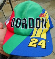 JEFF GORDON 1998 NASCAR 50TH ANNIVERSARY HAT FREE SHIPPING!! Jeff Gordon, 50th Anniversary, Nascar, Diecast, Free Shipping, Hats, Hat, Hipster Hat