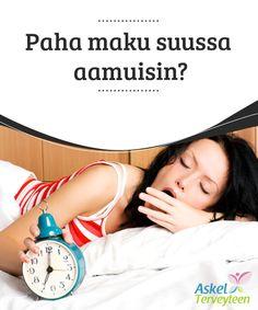 Paha maku suussa aamuisin?   Jokainen meistä on #varmasti kokenut sen kerran jos toisenkin: heräät aamulla hapan maku suussa. Mistä tämä ilmiö johtuu? Vaiva on yleinen ja vaikkei siitä ole syytä huolestua, se saattaa joskus olla merkki kehossa #tapahtuvista muutoksista ja #esimerkiksi maksan oireilusta  #Terveellisetelämäntavat