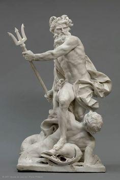"""""""Neptune calmant les flots"""" by Adam """"l'Aîné"""" (1743)."""
