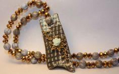 raku  necklace di RaRoearth su Etsy, $47.00