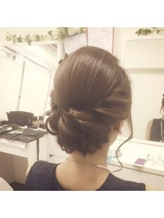 綺麗めパーティースタイル【ヘアセット クラシカル 】 - 24時間いつでもWEB予約OK!ヘアスタイル10万点以上掲載!お気に入りの髪型、人気のヘアスタイルを探すならKirei Style[キレイスタイル]で。 Party Hairstyles, Wedding Hairstyles, I Like Your Hair, Hair Arrange, Hair Dos, Updos, Bridal Hair, Hair Makeup, Hair Beauty