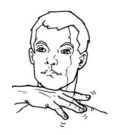 The sign for dirty in American Sign Language (ASL). Sign Language Basics, Sign Language Chart, Sign Language For Kids, Sign Language Phrases, Sign Language Alphabet, Sign Language Interpreter, British Sign Language, Learn Sign Language, Language Lessons