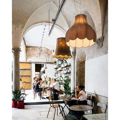 When a florist and a coffee shop meet at this amazing interior  by inayali