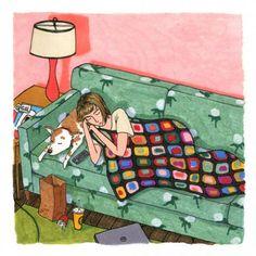 Illustrator Sally Nixon celebrates fabulous females in her charming vignettes Arkansas, Illustration Mignonne, Cute Illustration, Create Drawing, Guache, Art Graphique, Vignettes, Art Inspo, Illustrators