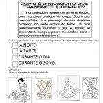 avaliacao de portugues para 1 ano para imprimir
