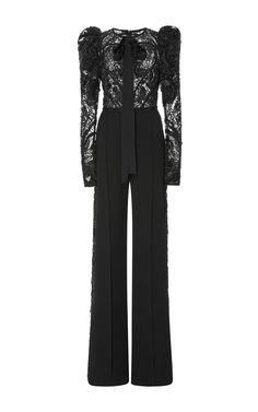 Flared sleeve Jumpsuit by ELIE SAAB for Preorder on Moda Operandi