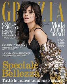 Camila Cabello for Grazia Magazine, Italia - October 2019 Camilla, Alexander Mcqueen, Fashion Magazine Cover, Magazine Covers, Magazine Wall, Grazia Magazine, Elle Us, Vogue Uk, Celebrity Wallpapers