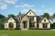 Rock and stone homes beautiful two story luxury brick for Hyde homes floor plans