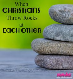 Sadly, Christians aren't immune to fighting. Sometimes they throw rocks at each other. Wounding a fellow soldier. Come over and find out how David handles his transgressors.