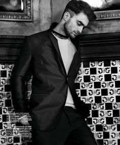 Daniel Radcliffe Essential Homme  August September issue