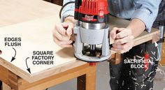 A router can be one of the most versatile tools in your shop. Here are a few of our favorite tips and tricks to help you get the most out of your router. Woodworking Guide, Router Woodworking, Woodworking Magazine, Woodworking Techniques, Easy Woodworking Projects, Popular Woodworking, Custom Woodworking, Woodworking Furniture, Wood Projects