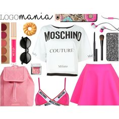 pink summer outfit #2