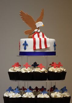 Andrew's Eagle Scout Court of Honor by The Couture Cakery, via Flickr