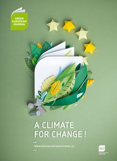 Green European Journal on Behance