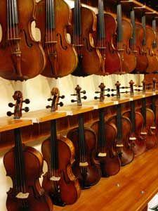 Intermediate and Advanced Violins