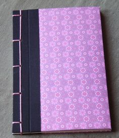 Japanische Buchbindung von Pink Paper Raven auf DaWanda.com