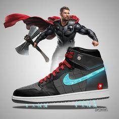 Marvel Studios' Avengers: Endgame (With Bonus) Marvel Shoes, Marvel Clothes, Dr Shoes, Hype Shoes, Custom Sneakers, Custom Shoes, Zapatillas Jordan Retro, Sneaker Plug, Zalando Style