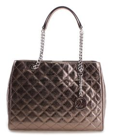 Loving this Nickel Susannah Leather Tote on #zulily! #zulilyfinds