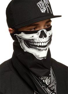 """Bandit"" Bandana by OG Abel (More Colors Available) #bandit #skull #face #inkedshop #bandana"