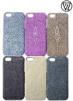 Valenz Handmade Embossed Croc Leather iPhone Cases