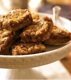 Passover Pecan bars look so yummy! I will try during the winter months, looks delicious.