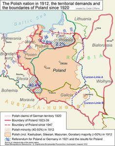 Poland.  My family is from the south, Galicia.