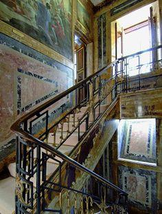 Dan Brown, Brown Art, Escorial Madrid, Stairway To Heaven, Stairways, House Design, The Originals, Home Decor, Cosplay