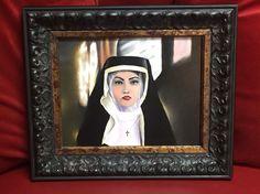 """Nun. 8""""X 10"""" oil on board"""