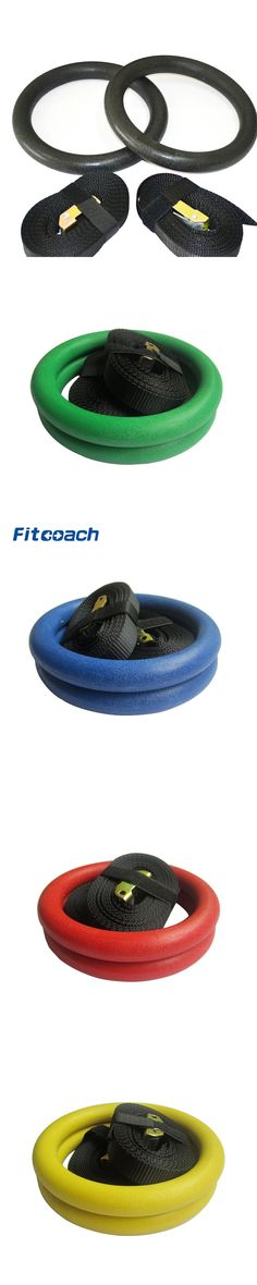 ABS Gymnastic Rings Exercise Rings Fitness Crossfit Home Gym Muscle Training Fitness Equipment