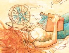 """Check out new work on my @Behance portfolio: """"Summer books"""" http://be.net/gallery/53928929/Summer-books"""