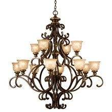 20 wrought iron chandeliers wrought iron chandeliers iron shop for the crystorama lighting group bronze umber norwalk 12 light wide 2 tier wrought iron chandelier and save mozeypictures Gallery