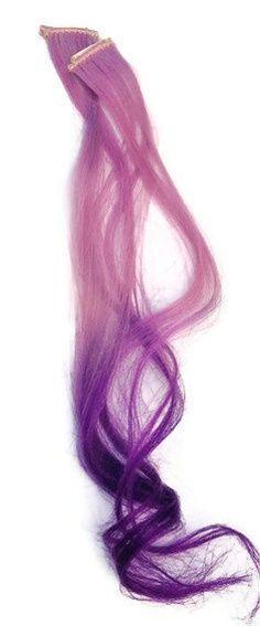 Purple reverse ombre hair extensions https://www.etsy.com/listing/99246654/100-human-hair-extensionspurple-ombre | best stuff