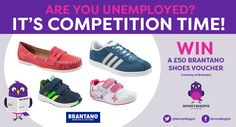 If the winter has taken its toll on your footwear, you can't miss our latest competition. Win a £50 Brantano shoes voucher.