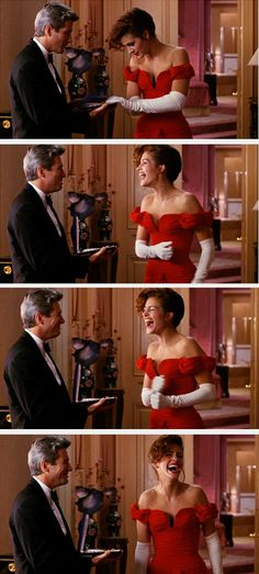 The necklace scene.. ~ Pretty Woman (1990) ~ Movie Stills