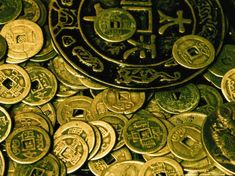 feng shui chinese coins money cure