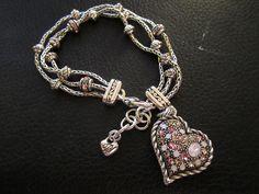 Brighton - Breast Cancer Awareness Bracelet.  ♥♥♥