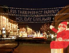 Less Than Perfect Parents Holiday Giveaway!  DAY 5: $100 Pottery Barn Gift Card! #giveaway #win