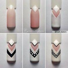 Nail art Christmas - the festive spirit on the nails. Over 70 creative ideas and tutorials - My Nails Nail Art Hacks, Nail Art Diy, Easy Nail Art, Diy Nails, Cute Nails, Pretty Nails, Manicure, Nail Art Designs Videos, Nail Polish Art