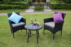 Our Eton range is like no other. Manufactured from PE rattan which can be kept outdoors all year round. Rattan Furniture, Garden Furniture, Outdoor Furniture Sets, Outdoor Dining, Outdoor Decor, Bistro Set, Conservatory, Dining Set, Relax