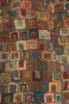"""Cartel""  KBO  wool scarf - Sophie Digard crochet"