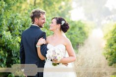 Loved Alisha & Mark's wedding at Sandalford Winery in the Swan Valley, they look so relaxed & in love here, you'd never guess it was 39 degrees!