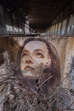 """The Alpha Project"" – 4 New Massive Portrait Murals by Street Artist RONE Murals Street Art, Street Art Banksy, 3d Street Art, Street Artists, Graffiti Artwork, Mural Art, Newspaper Art, Best Graffiti, Urbane Kunst"