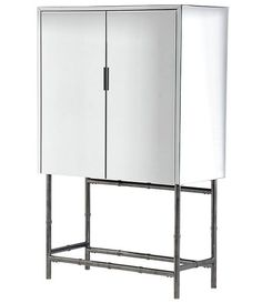 Mirrored Drinks Cabinet Sideboard on Legs