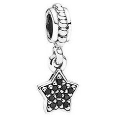 Genuine Pandora S925 Silver 791024nck Black Star Charm European Listing in the Other,Charms & Charm Bracelets,Fine Jewellery,Jewellery & Watches Category on eBid From GCR