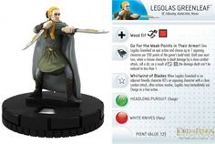 TrollandToad offers a large selection of HeroClix Singles at Great Prices. View Legolas Greenleaf #018 Fellowship of the Ring Heroclix and other Fellowship of the Ring Gravity Feed items at TrollandToad.com.