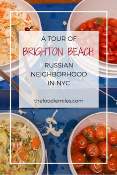 Brighton Beach, or as it's also called Little Russia, is a neighborhood of New York that will instantly transport you to Soviet times. Click on pin to find out what you might find on the streets of Brighton Beach.